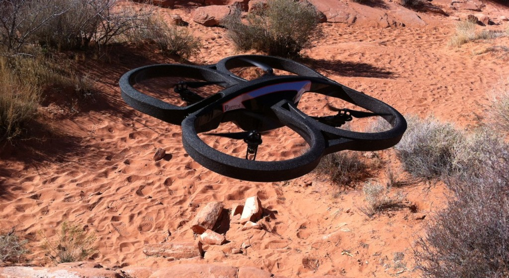 Parrot_AR.Drone_2.0_take-off,_Nevada