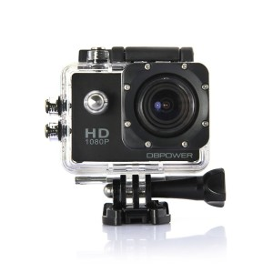 DBPOWER® SJ4000 Waterproof Action Camera 12MP 1080P HD with 2 Batteries and Free Accessories Ki