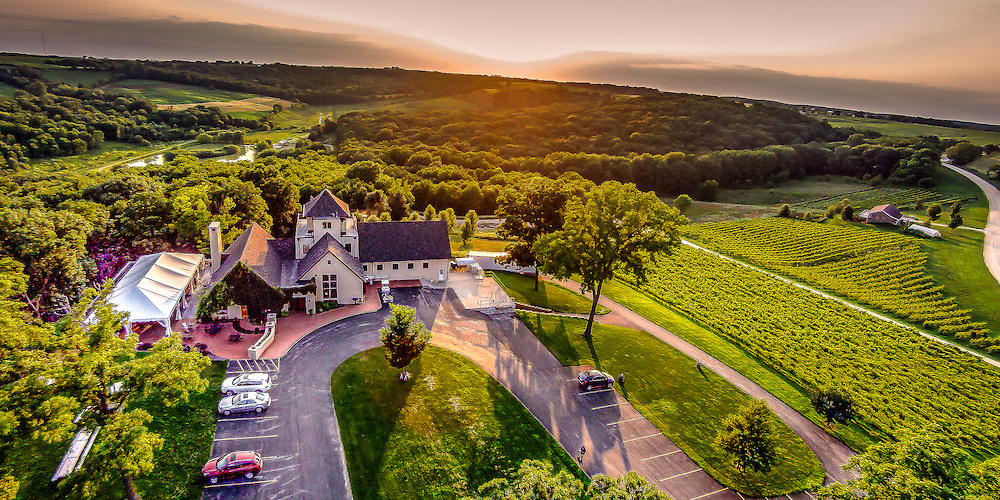 vineyard drone