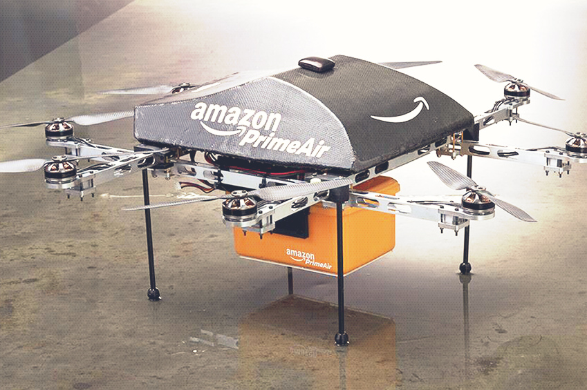 Prime Air Amazon Plans For Their Delivery Drones