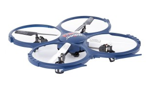 UDI RC Discovery 2.4GHz 4 CH 6 Axis Gyro RC Quadcopter with HD Camera RTF
