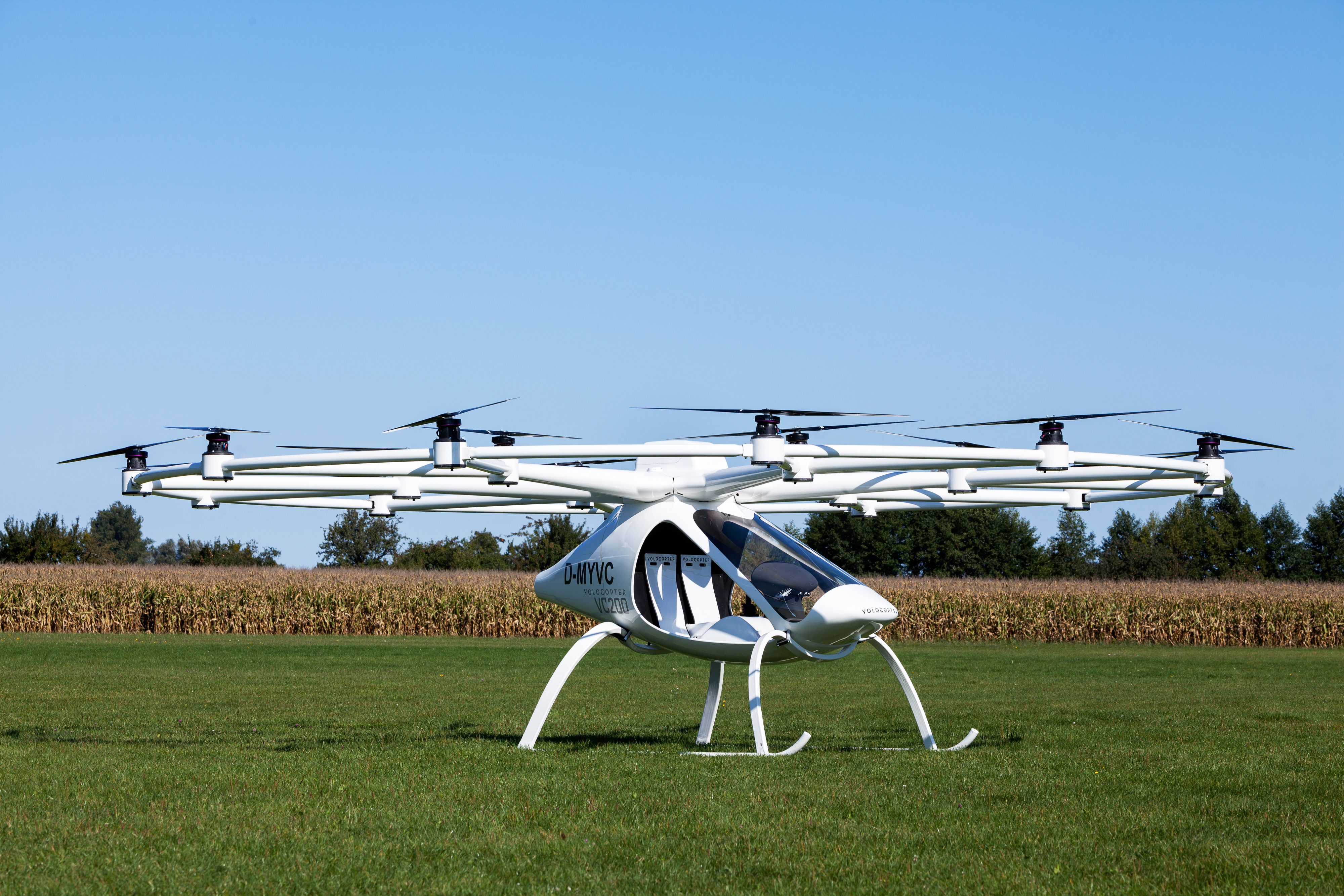 Volocopter VC200 Manned Drone