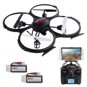 DBPOWER U818A WiFi FPV RC Drone